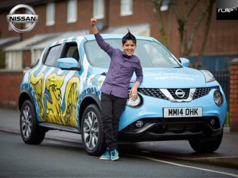 Nissan and Man City 3